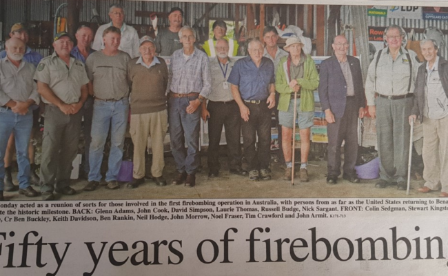 50 Years Of Firebombing