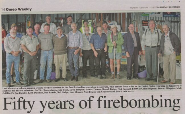 Fifty Years of Firebombing