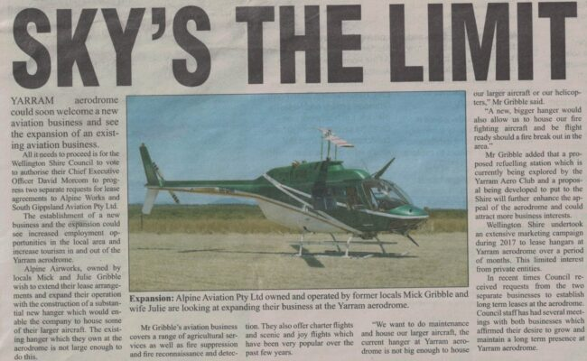 Sky's the Limit - Yarram Standard